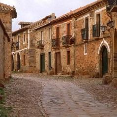 El Camino Vacio. Castrillo de los Polvazares, en Léon. © Santos Cid